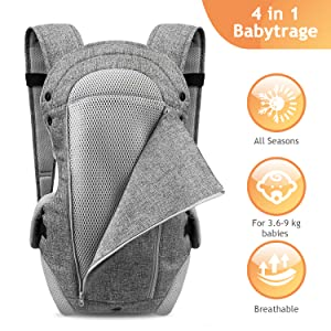baby carrier for all seasons