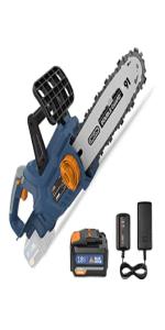tronçonneuses électriques à batterie san fil elagueuse électriques 25cm 35cm 40cm Scies elagage