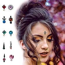 stone bindis, wedding bindis, bindis, indian bindis, bindi designs