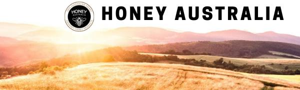 Honey Australia Logo Manuka Honey MGO 514+ UMF 15+ Raw Organic Unfiltered Pure Recipes Cooking Bake
