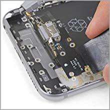 MMOBIEL Paquete de 5 Repuesto Conector Dock de Carga Compatible con iPhone 6S Plus (Blanco), Incl. 2 X Destornilladores