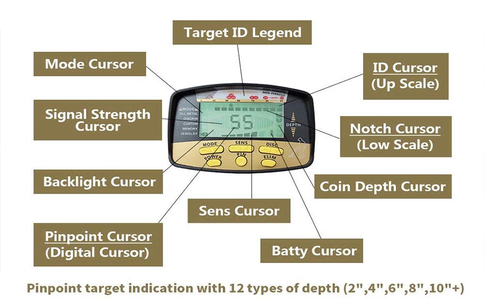 metal gold detector