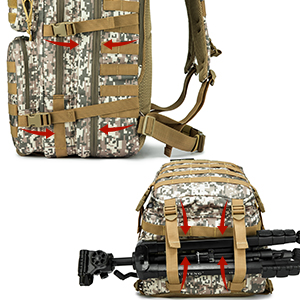 molle backpack with holster  molle backpack for women molle backpack with waist belt