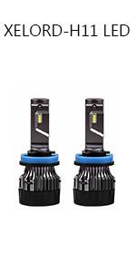 Bombilla H11 LED Coche,60W Faro Bombillas Kit - 10000LM ...