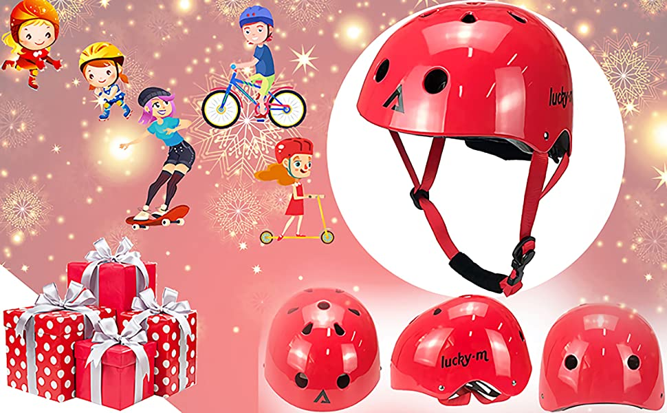 Boy Girl Adjustable Child Cycling Helmet