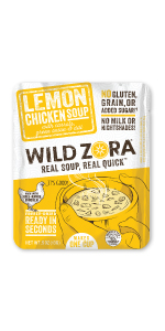 Wild Zora Lemon Chicken Instant Soup