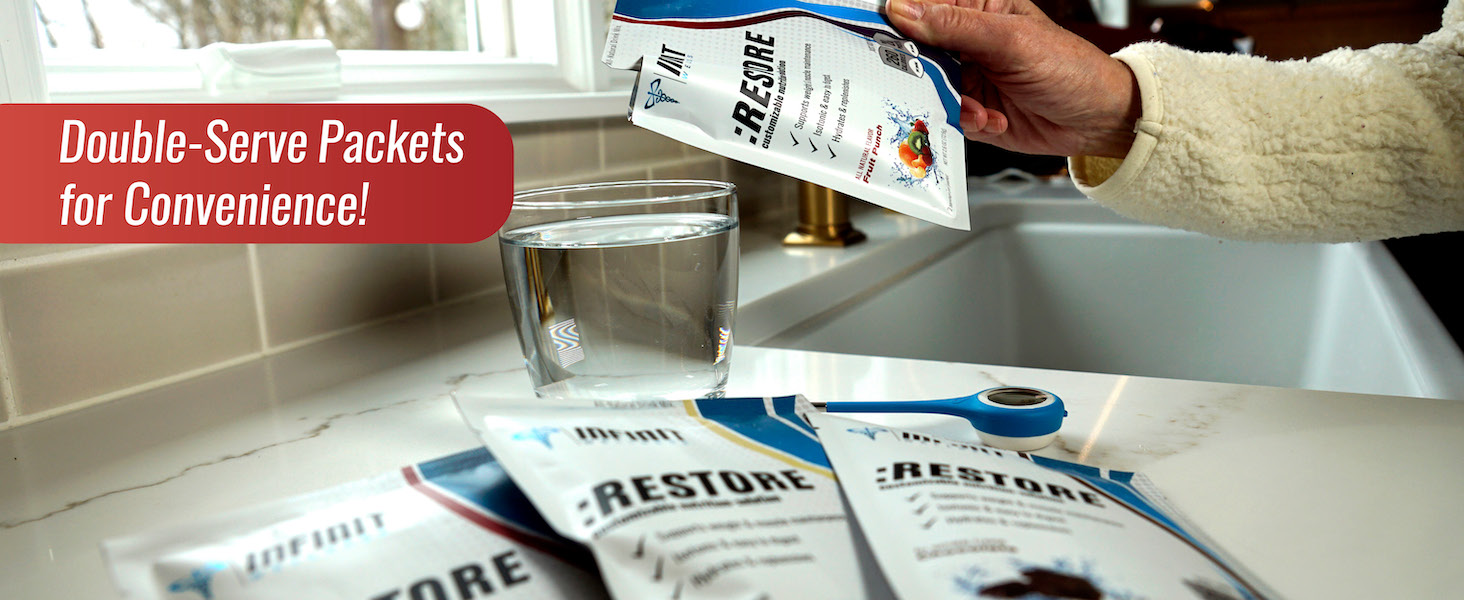 hydration powder packets