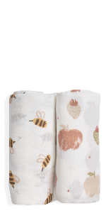 swaddle fruit daisy