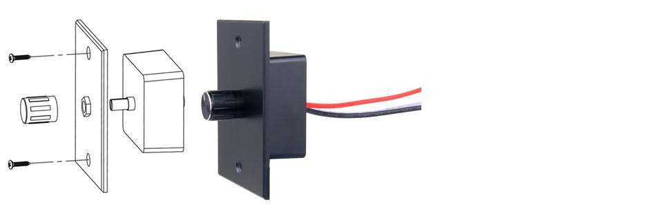 12v 24v high side light dimmer switch