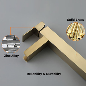 Solid Brass Construction