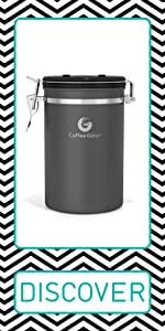 Coffee Gator Coffee Canister Coffee Storage