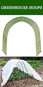 greenhouse hoops for plants