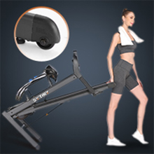 Multifunctional transport wheel: The transport wheel makes your treadmill convenient to transport.