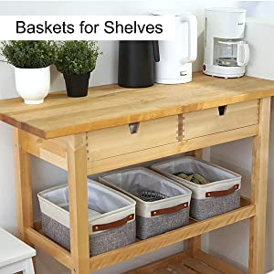 shelf baskets