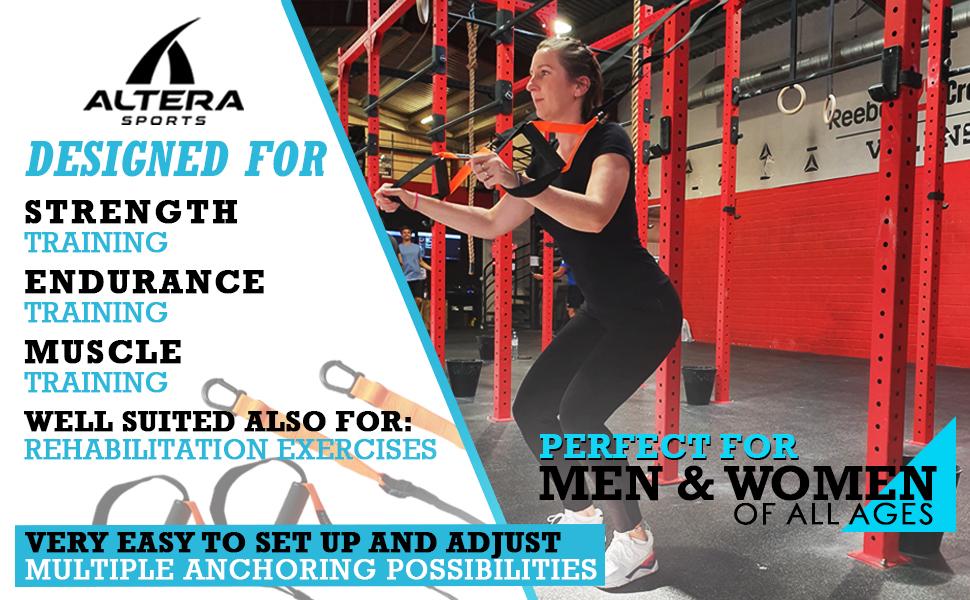 Alterasports Bodyweight Resistance Strap Trainer