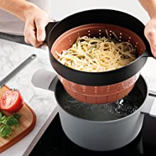 Silicon Collapsible steamer basket