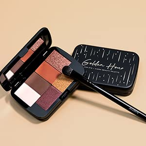 aloette, makeup palette, eyeshadow palette, bronzer palette, makeup, shimmer eyeshadow