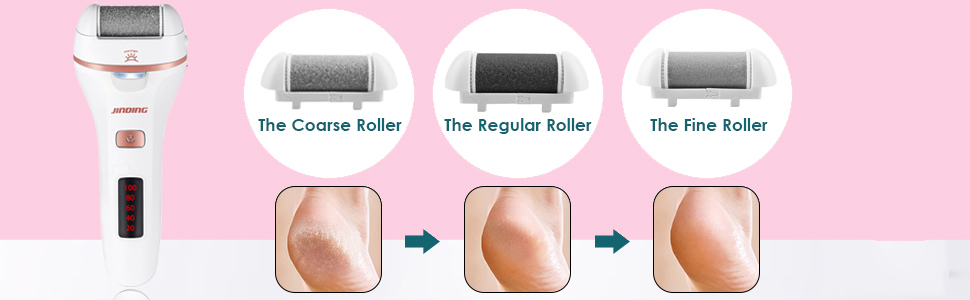 3 different rollers for your needs
