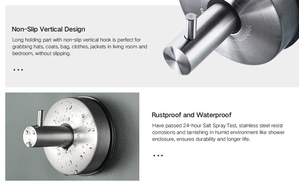 Non-Slip and Waterproof design