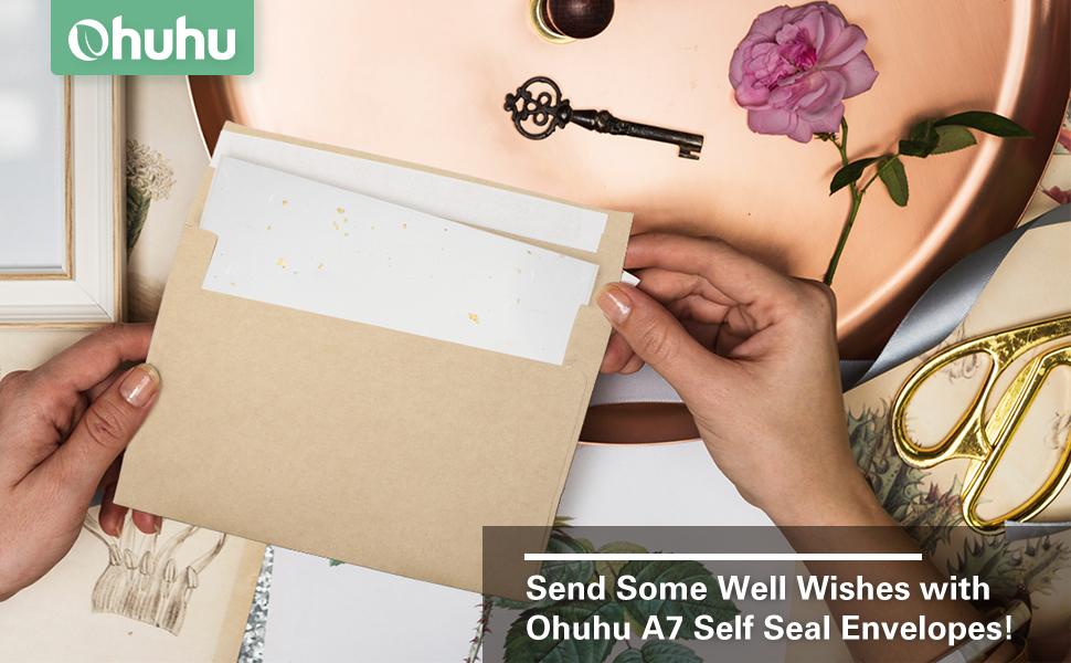 5x7 Cards Envelopes
