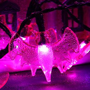 waterproof halloween string lights