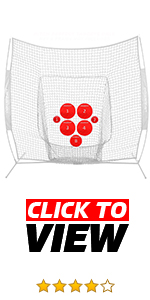 PowerNet Pitching Targets are great for baseball and softball players. Increase accuracy.