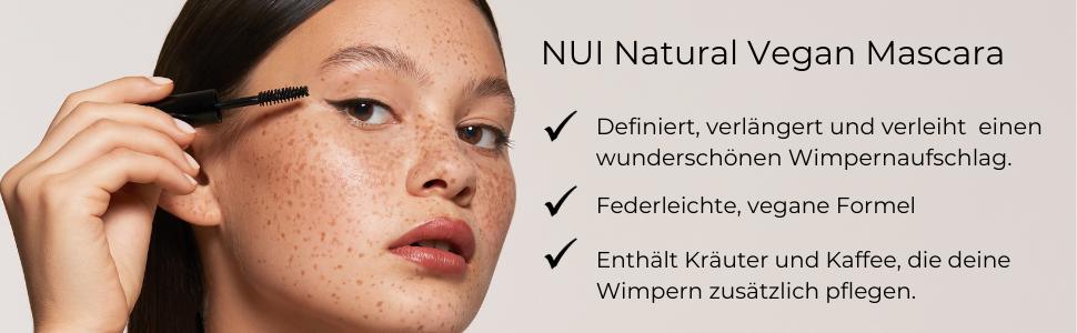NUI Cosmetics Natural mascara