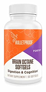 Bulletproof brain octane oil MCT oil cognitive function gut health keto