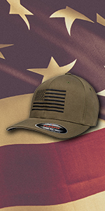 American flag hat by E6G