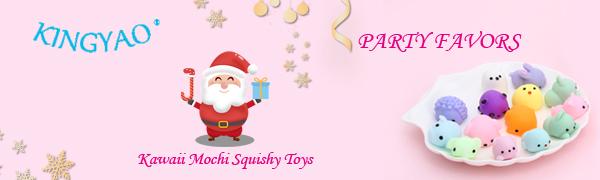 kingyao kawaii mochi quishy toys party favors
