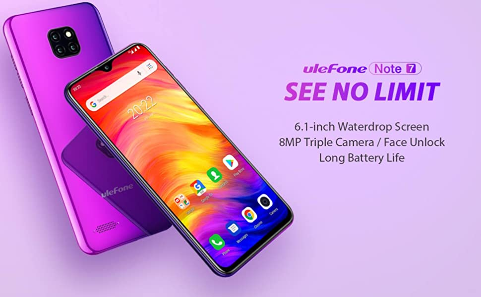 Ulefone note 7, unlocked cell phones