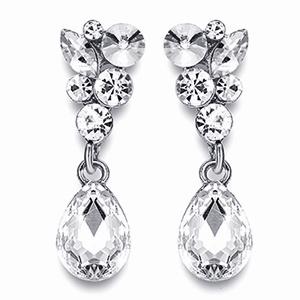 brides dangle drop earrings