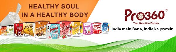 Pro360 protein powder nutritional supplement instant beverage mix
