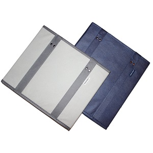 reusable grocery bags with reinforced should straps sides and bottom shopping bag box
