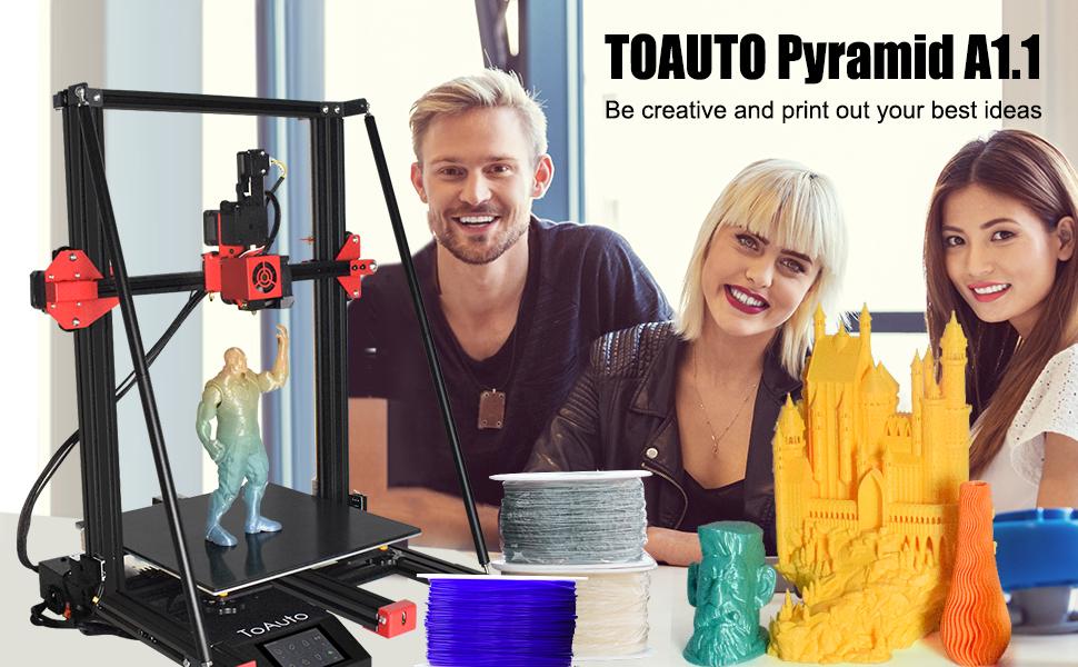 pyramid a1 3d printer