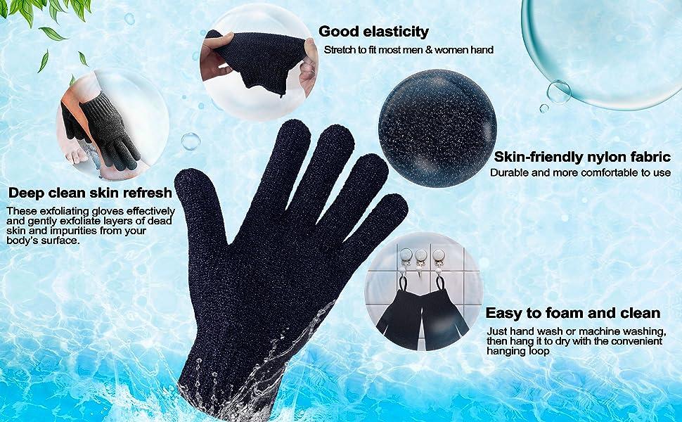 light heavy Exfoliating Bathing Gloves