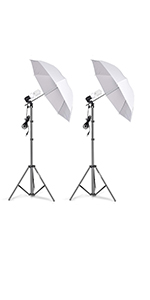 Emart 400W 5500K Photo Portrait Continuous Reflector Lights