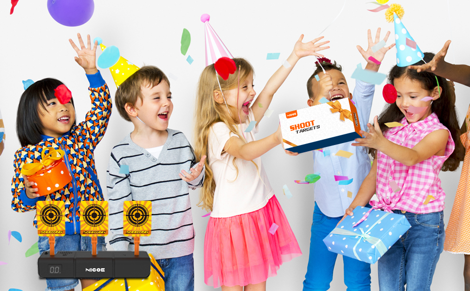 NIGOE Electronic Digital Target is a great gift for kids' birthday and Christmas