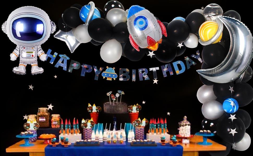 Solar System Birthday Party Decorations  from m.media-amazon.com