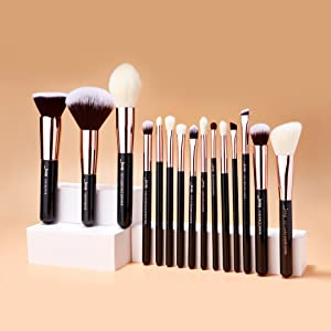 Jessup professional makeup brushes