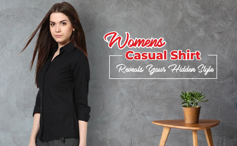 B07DZP8ZWK_ C.Cozami Women's Long Sleeves Rayon Casual Shirts- SPN FOR-1