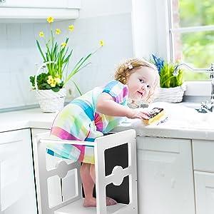 helper stool for kids in kitchen toddler