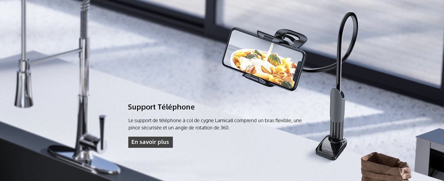 Support Tablette