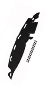 for Dodge RAM 1500 2500 3500 1998-2001 Dashmat Dash Cover Dashboard Mat Carpet
