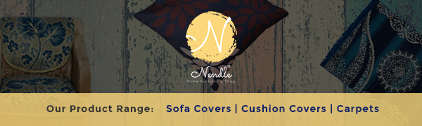 Nendle Home Furnishing Shop Presents All New Range Of Sofa Covers, Cushion Covers And Carpets