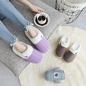 purple slippers