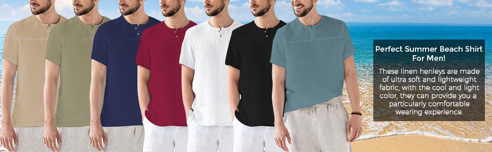 Summer Beach Shirt for Men