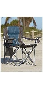 LivingXL 500-lb. Capacity Heavy-Duty Portable Oversized Chair