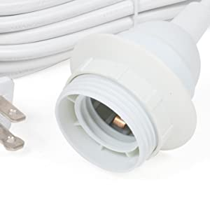 white indoor extension cord light cord hanging lights for bedroom hanging lamp