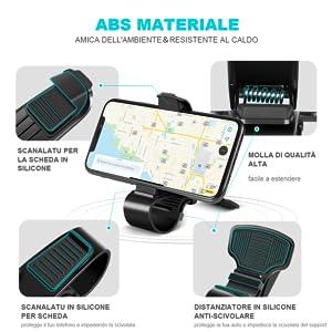 supporto auto smartphone